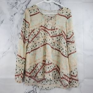 !SALE 5 FOR $25! Maurices Boho Sheer Blouse